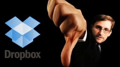 Photo of NSA : Edward Snowden déconseille Dropbox