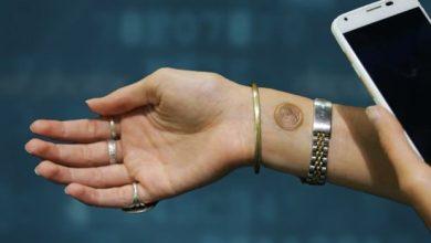Photo de Vivalnk : un tatouage pour s'identifier sur son téléphone