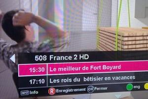 Voo : retour de France 2 HD
