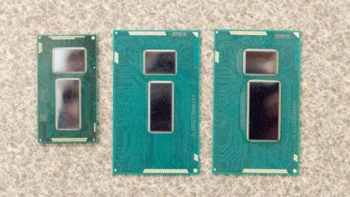 Photo de Intel : productions en volume des processeurs Core M sous Broadwell en 14nm