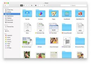 Finder : déposez n'importe quel fichier sur iCloud Drive et retrouvez-le sur tous vos appareils.