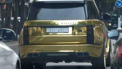 """Les braqueurs du prince saoudien ne se sont pas intéressés à son Range Rover plaqué or ni même à sa Bugatti Veyron, bien plus """"cotées"""" !"""