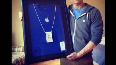 Photo de Buzz : une carte de visite Apple aux enchères… au nom de Sam Sung