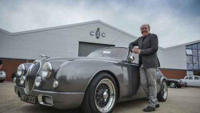 Le designer de Jaguar revisite une Mark 2