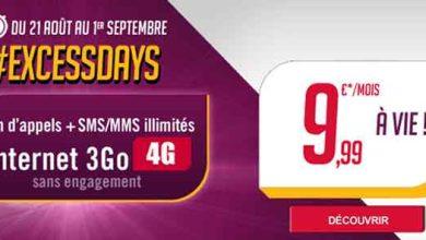Excess Days : Virgin Mobile lance sa promotion pour la rentrée