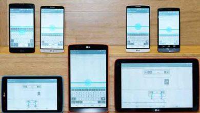 Photo de Avec G3 UX, LG veut unifier l'interface de ses appareils mobiles