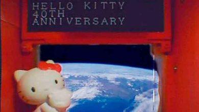 Photo of Hello Kitty tourne autour de la Terre à bord d'un satellite