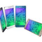 Les couleurs du Samsung Alpha.