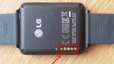 Photo de LG G Watch : quasi neuve et déjà de la corrosion