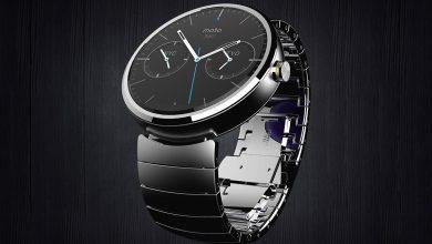Photo de Moto 360 : vers une montre connectée « classique »