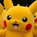 Illustration - Une parade de Pokémon «Pikachu» à Tokyo, le 14 août dernier. Le célèbre jeu Nintendo va être décliné pour iPad.