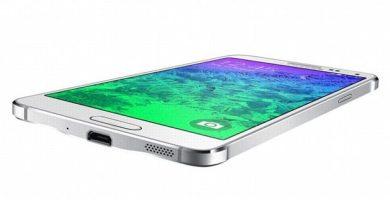 Samsung adopte un nouveau design avec son Galaxy Alpha