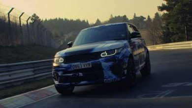 Photo of Range Rover met le pied au plancher avec son SUV Sport SVR