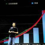 Lei Jun, cofondateur de Xiaomi, lors de la présentation des résultats des ventes de son groupe, le 22 juillet, à Pékin.