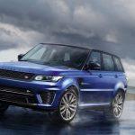 Le Range Rover Sport SVR monte en puissance