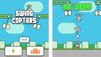 Le créateur de Flappy Bird est de retour avec Swing Copters