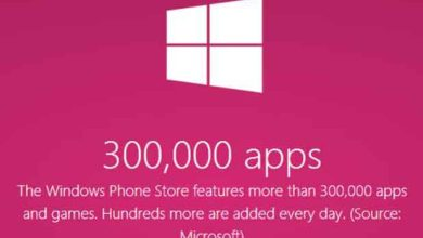 Windows Phone Store : plus de 300 000 applications disponibles !