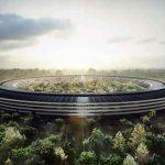 Campus 2 d'Apple : un drône filme le chantier interdit