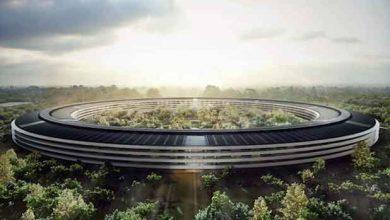Apple : un drone vole des images du Campus 2