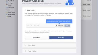 Photo of Facebook : un « Privacy Checkup » pour vérifier les paramètres de sécurité et de confidentialité