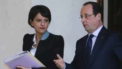 Photo de François Hollande participe à la rentrée scolaire de Clichy-sous-Bois