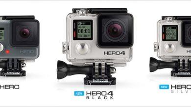Photo de Hero4 Black/Silver : GoPro annonce sa nouvelle gamme