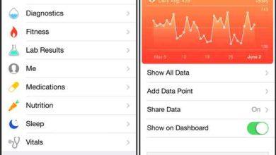 Photo de HealthKit : Apple modifie les conditions d'utilisation des données médicales