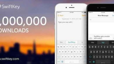 Photo de iOS 8 : plus de 1 million de téléchargements pour SwiftKey