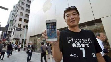 Photo of iPhone 6 : il attend 2 semaines sur le trottoir pour être le premier