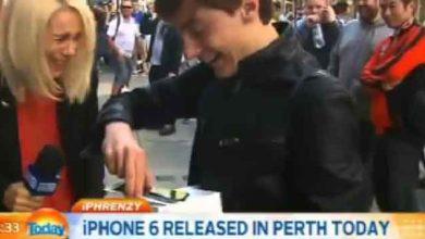 Photo of iPhone 6 : à peine acheté, il le lâche par terre !