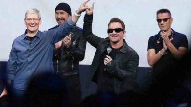 Photo of iTunes : succès mitigé pour l'album de U2
