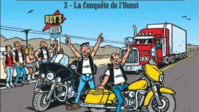 Photo de La conquête de l'Ouest : sortie du tome 3 de « Je veux une Harley »