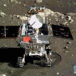 Le petit rover lunaire Yutu que la Chine a réussi à poser sur la surface de la Lune.
