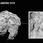 Le site d'atterrissage du robot Philae sur la comète. Photo ESA