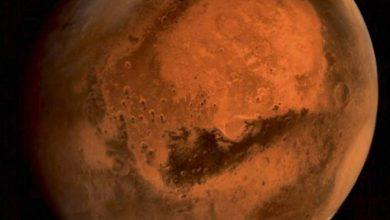 Photo of Mars : la sonde MOM photographie une tempête de poussière