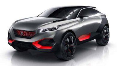 Photo de Avec la Quartz, Peugeot présente le concept d'un crossover sportif