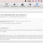 La DP7 de OS X Yosemite est disponible