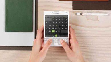 Photo of Passeport : BlackBerry compte sur son smartphone carré