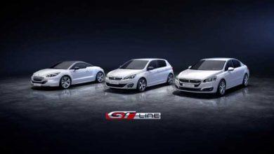Photo de Peugeot lance la finition GT Line pour ses modèles 308, 508 et RCZ