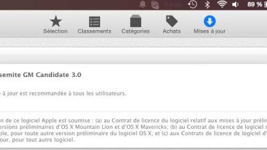 Photo of Gold Master OS X Yosemite : jamais deux sans trois !