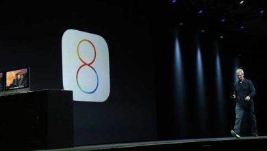 Photo de iOS : déjà une version 8.1 !