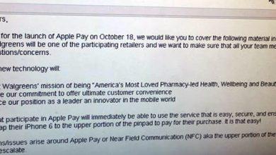 Photo de Lancement d'Apple Pay le 18 octobre ?