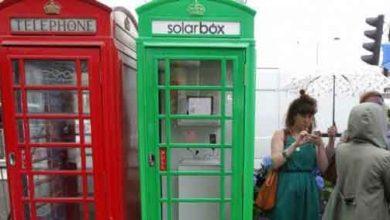 Photo de Londres : les cabines téléphoniques adoptent le vert