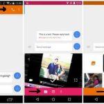 Messenger permet d'appeler, de prendre des photos, d'en ajouter en pièce jointe ou d'envoyer un message vocal.