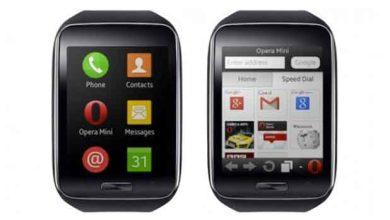Photo de Opera Mini s'invite sur la Gear S de Samsung