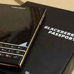 BlackBerry Passport : une Gold Edition pourrait être en préparation