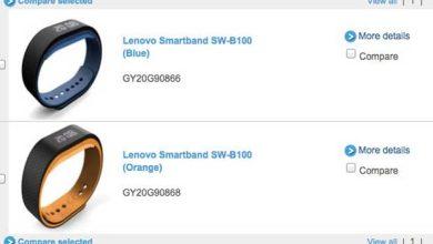 Photo de Avec son Smartband, Lenovo lance un bracelet connecté