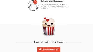 Photo de Popcorn-Time : la Belgique oblige le site à déménager