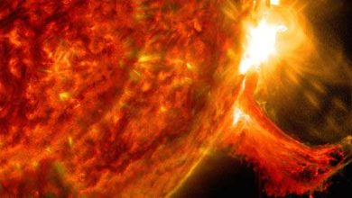 Photo of Prédire les éruptions solaires grâce à la « corde magnétique »