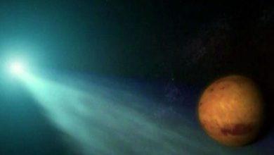Photo of Siding Spring « frôle » Mars sous l'œil des caméras